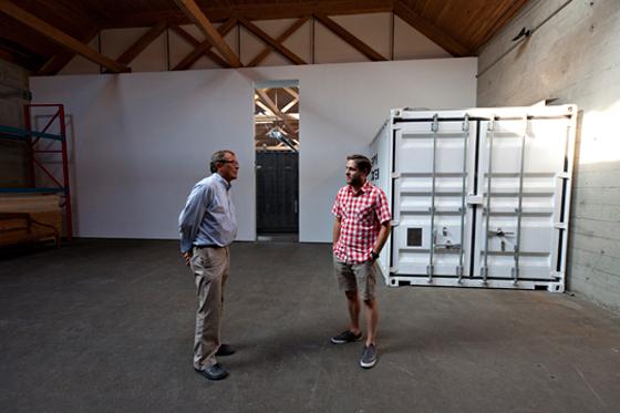 Prototypes Niels-Bendtsen & Josh Dunford. Photo credit: Chris Allen.