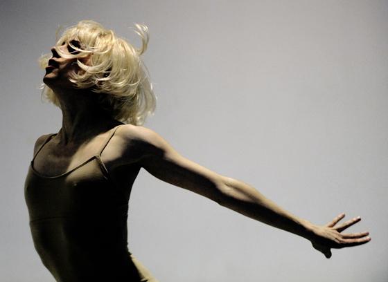 Ballet BC's Alexis Fletcher. Photo credit: Chris Randle