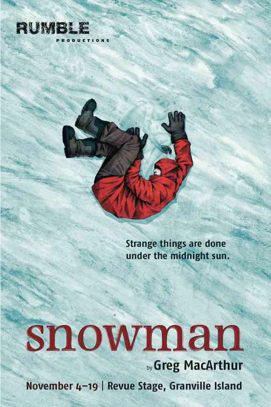 Snowman publicity postcard