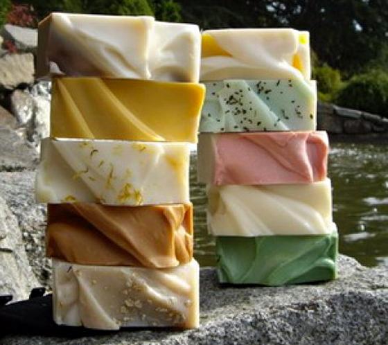 Dam Good Soap selection