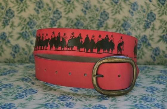 Love Jules leather belt