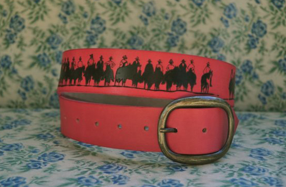 Love Jules leather belt