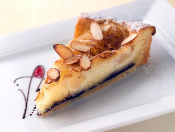 Pear Almond Tart, from Thomas Haas Fine Chocolates, Thomas Haas and Esther Tso