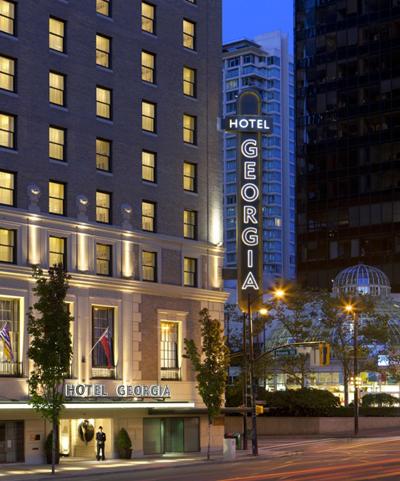 Rosewood Hotel Georgia Exterior