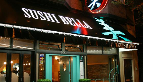 Sushi Bella exterior