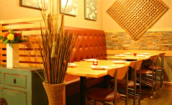 Bella Sushi interior