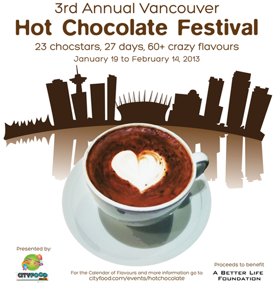 Hot Chocolate Festival poster