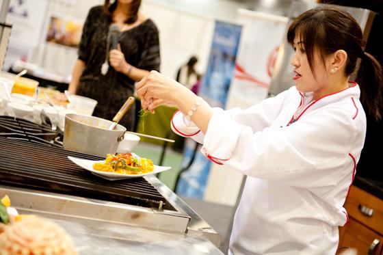 Wellness Show chef demo