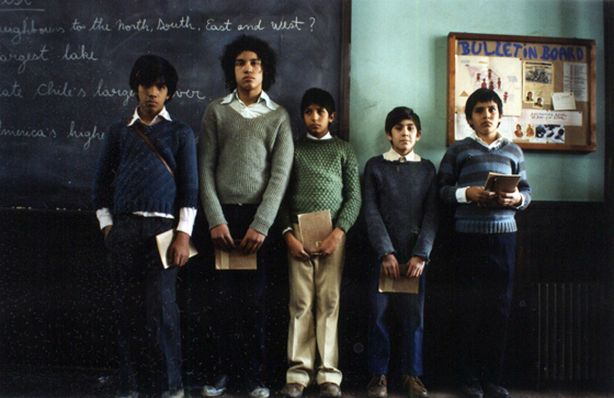 Machuca film still