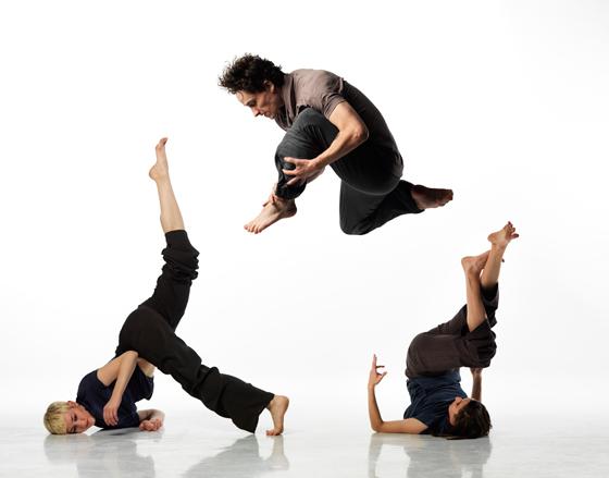 Dancers Dancing's Bevin Poole, Cai Glover, Vanessa Goodman
