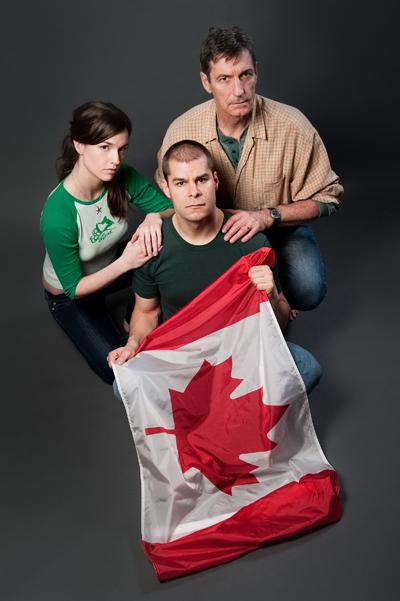 Lindsay Winch, Kyle Jespersen, Peter Hall