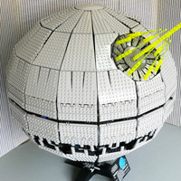 Star Wars death star LEGO
