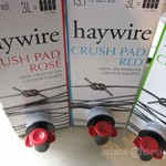 Okanagan Crush Pad: Haywire Wines