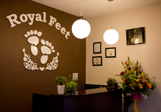 Royal Feet interior