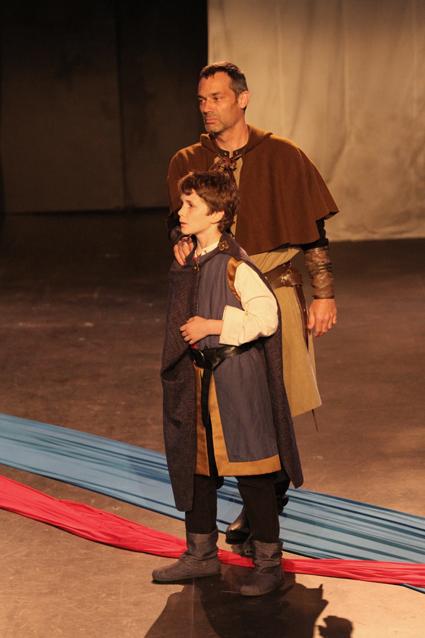 Lucas Gustafson as Arthur; Todd Thomson as Hubert de Burgh