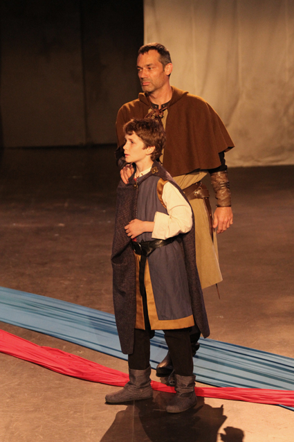 Lucas Gustafson as Arthur; Todd Thomson as Hubert de Burgh