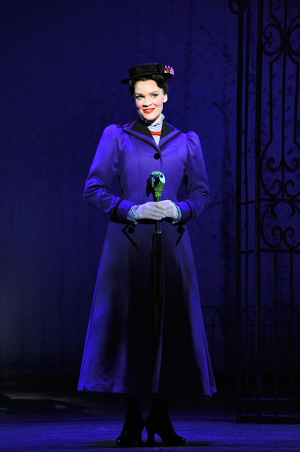 Rachel Wallace as Mary Poppins