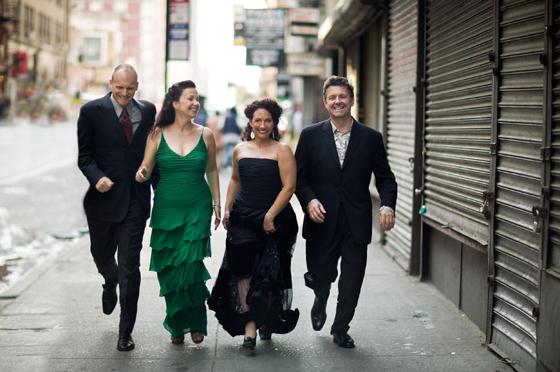 New-York-Voices: Darmon Meader, Lauren Kinhan, Kim Nazarian, Peter Eldridge