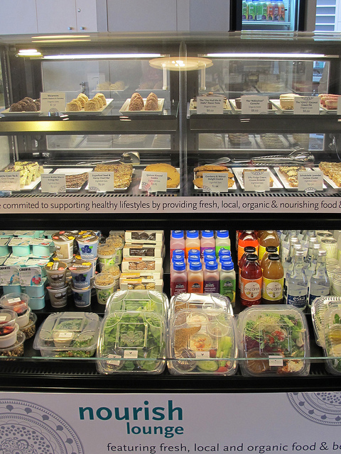 Nourish food counter