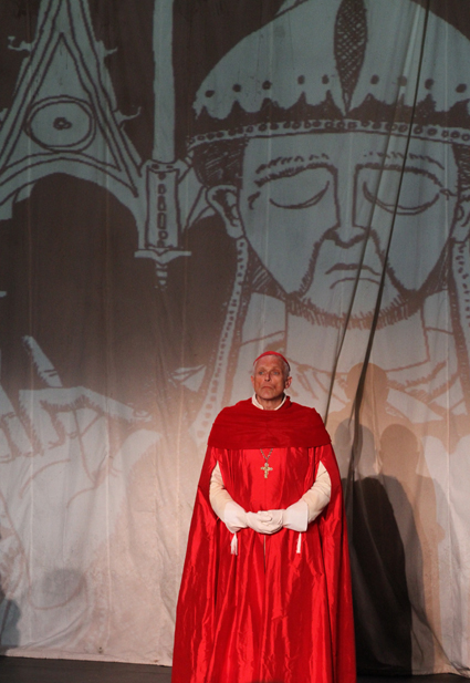Allan Morgan as Cardinal Pandulph