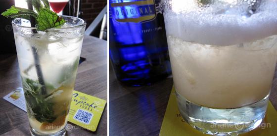 Cupcake Vodka cocktails