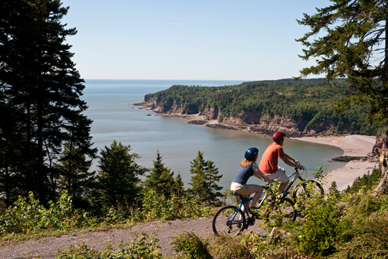 Biking Fundy Trail