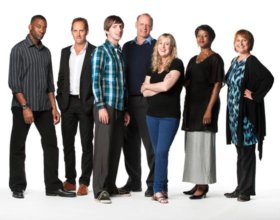 Clybourne cast. Photo credit: Emily Cooper