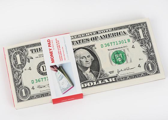 Tobias Wong: Money Pad