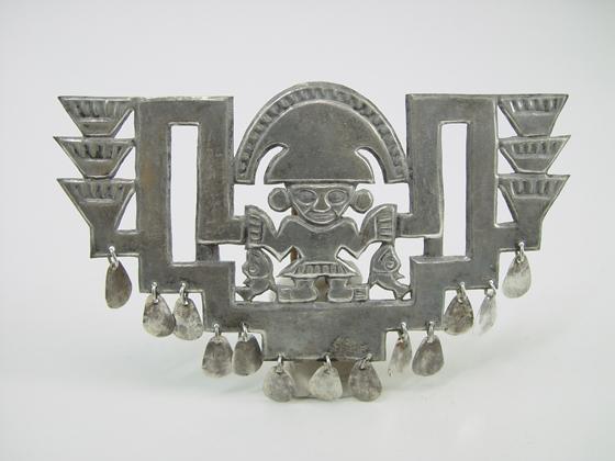 Pre-Columbian Body Ornament, Larco Museum, Peru.