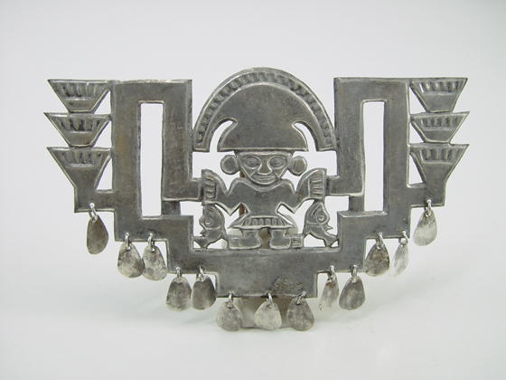 Pre-Columbian Body Ornament, Larco Museum, Peru.