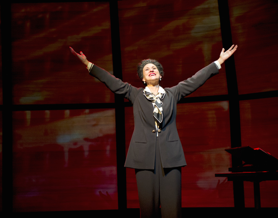 Gina Chiarelli as Maria Callas