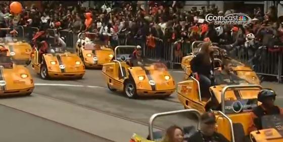 parade cars