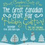 Inaugural Great Canadian Craft Fair