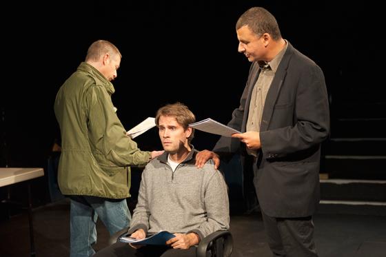 Anthony F. Ingram, Mack Gordon, Marcus Youssef. Photo by Emily Cooper