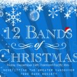 12 Bands of Christmas Food Drive
