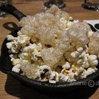 Forage cracklings and popcorn