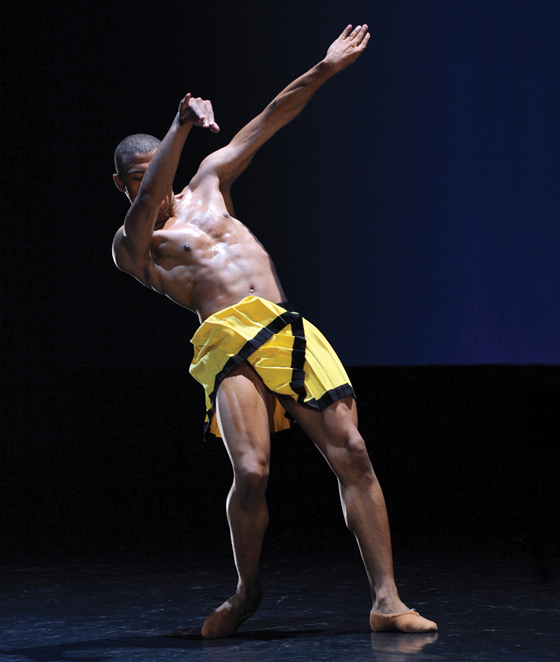 Donald Sales in Herman Schmerman; photo by Chris Randle.