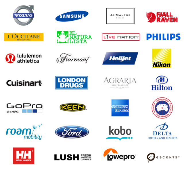 Logos - companies Vancouverscape has worked with