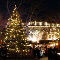 Vorosmarty Square Christmas Market
