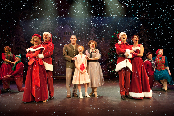 White Christmas cast