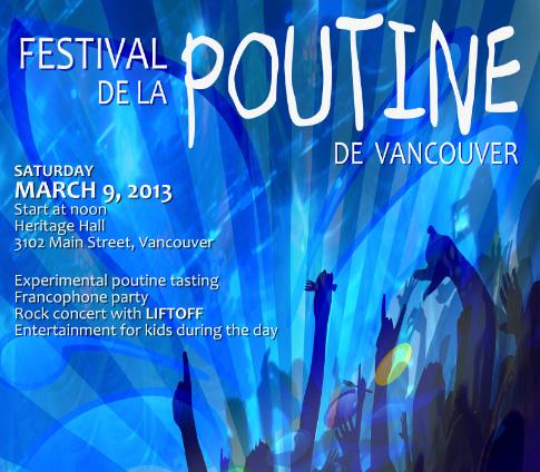 Festival Poutine poster detail