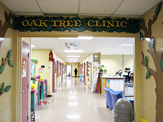 Oak Tree Clinic interior
