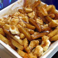 Bowl of poutine