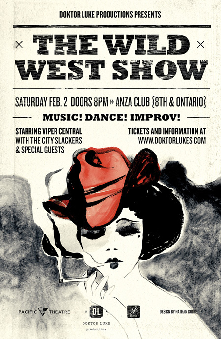 Wild West Show poster