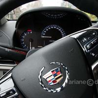 Cadillac ATS steering wheel