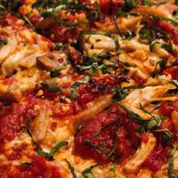 Roasted pizza