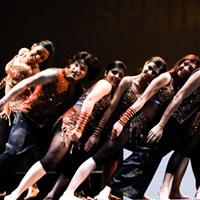 Spring Funk dancers