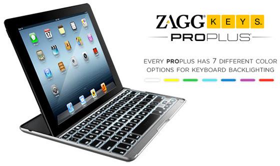 ZAGG PROplus keyboard case