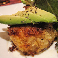 Eight and 1/2 crab cakes