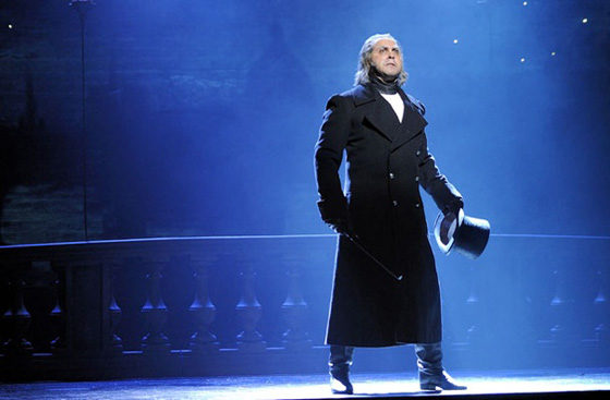 Andrew Varela as Javert in Les Miz
